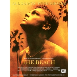 All Saints / Pure Shores (from The Beach) Piano/Vocal/Chords