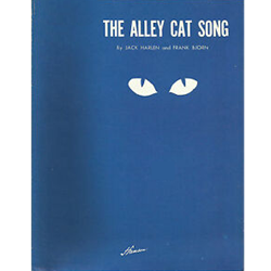 Alley Cat Song Sheet