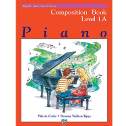 Alfred's Basic Piano Library Composition Bk 1a