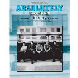 Absolutely (story Of A Girl) PVG Sheet Music