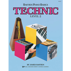 Bastien Piano Basics: Technic - Level 2