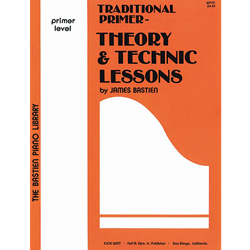 Bastien Piano Library Traditional Primer - Theory and Technic Lessons