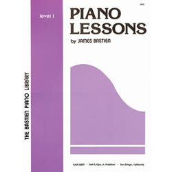 Bastien Library Piano Lessons - Level 1