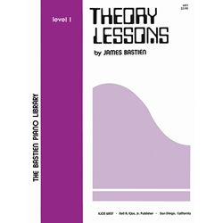 Bastien Library Piano Theory Lessons - Level 1