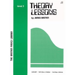 Bastien Library Piano Theory Lessons - Level 3