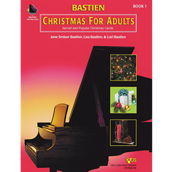 Bastien Christmas For Adults, Book 1 (Book Only)