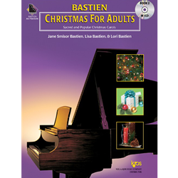 Bastien Christmas For Adults, Book 2 (Book & CD)