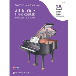 Bastien New Traditions: All In One Piano Course - Level 1A