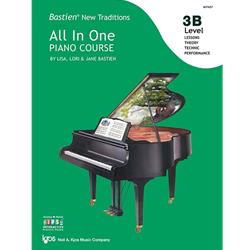 Bastien New Traditions: All In One Piano Course - Level 3B