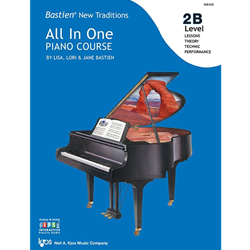 Bastien New Traditions: All In One Piano Course - Level 2B