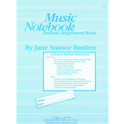 Bastien Music Notebook