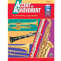 Accent on Achievements Book 2 - Baritone Sax