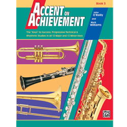Accent on Achievements Book 3 - Alto Clarinet