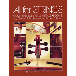 All For Strings Book 3 Piano Accompaniment