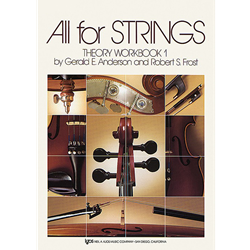 All for Strings Theory Book 1 Violin