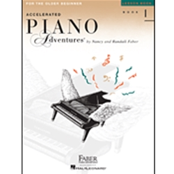 Accelerated Piano Adventures Lesson 1