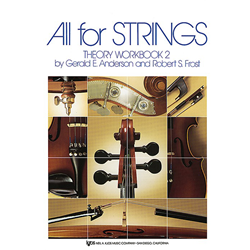 All for Strings Theory Book 2 Cello