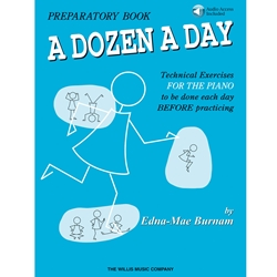 A Dozen A Day Preparatory Book & Online Audio