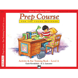 Alfred's Basic Piano Prep Course: Universal Edition Activity & Ear Training Book A