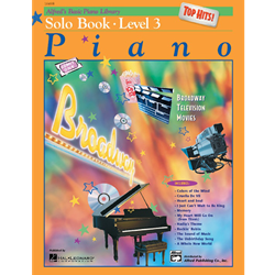 Alfred's Basic Piano Library Top Hits 3 /CD