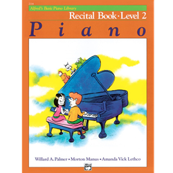 Alfred's Basic Piano Library Recital Book, Book 2