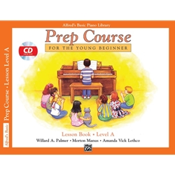 Alfred's Basic Piano Prep Course Lesson Book, Book A with CD
