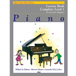 Alfred's Basic Piano Library Complete Lesson 1