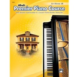 Alfred's Premier Piano Course, At-Home 1B