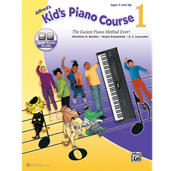 Alfred's Kid's Piano Course, Book 1