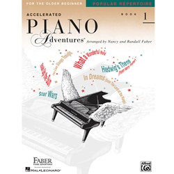 Accelerated Piano Adventures Popular Repertoire 1