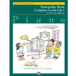 Alfred's Basic Piano Library Complete Notespller 2&3