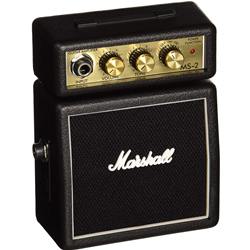 Marshall M-MS-2-U Mini Stack Guitar Amp Black