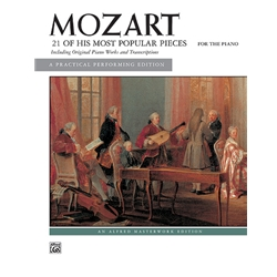21 of His Most Popular Pieces, Mozart
