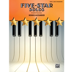 Alexander Five Star Solos Book 4 Piano Solos