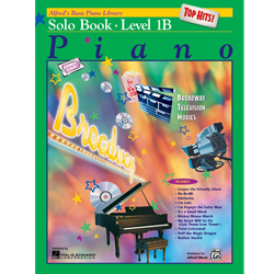 Alfred's Basic Piano Library: Top Hits! Solo Book 1B