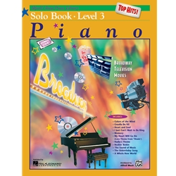 Alfred Basic Piano Library Top Hits Volume 3