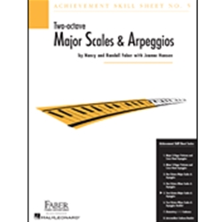 Achievement Skill Sheet 5 Two Octave Major Scales and Arpeggios
