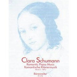 Clara Schumann Romantic Piano Music Volume 2