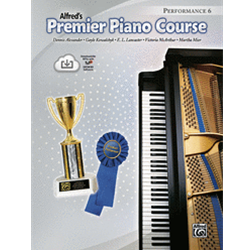Alfred's Premier Piano Course, Performance 6 with CD